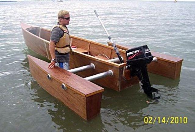лодки под парусом сделай сам