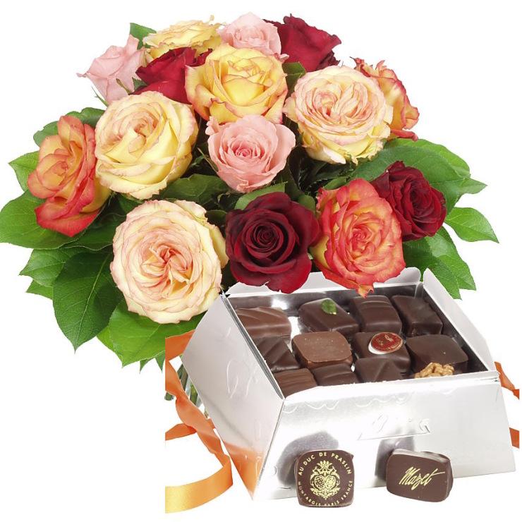 Розы для подруги поздравление