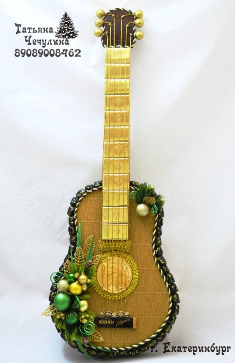 Гитара как сувенир своими руками