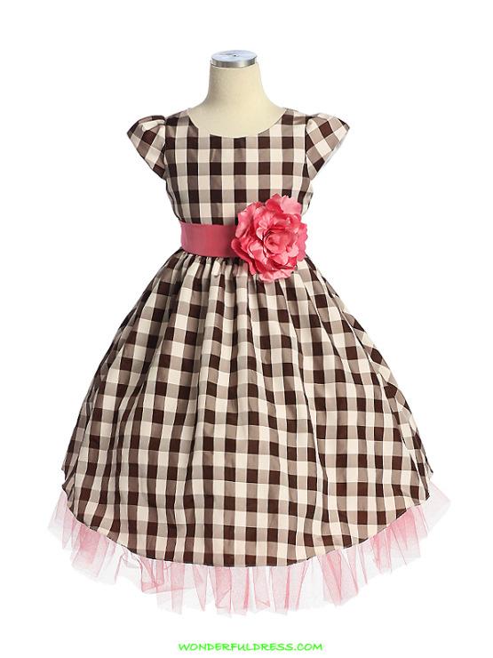 Как сшить нарядное платье для девочки самой