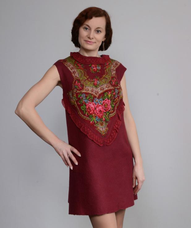 Блузка Из Платков В Самаре