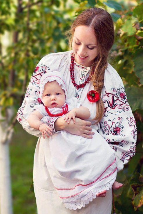 фото русская мама