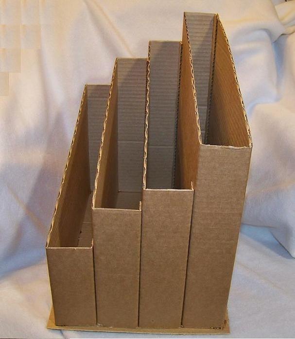Как сделать подставку для карандашей своими руками из картона легко - Prestige59.ru