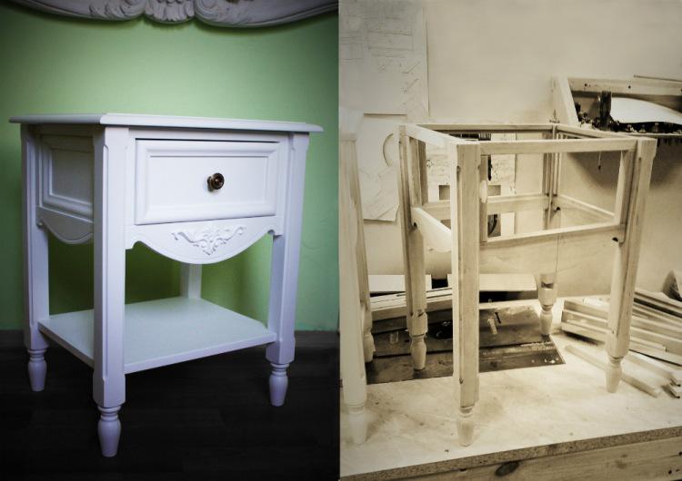 Gallery.ru / Тумбочка в стиле Прованс. - Мебель в стиле Прованс. - KitchDom