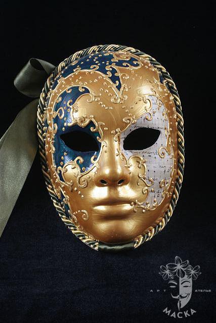 Венецианские маски вольто своими рукам