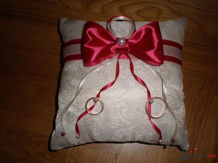 Свадебная подушечка для колец своими руками пошагово 11