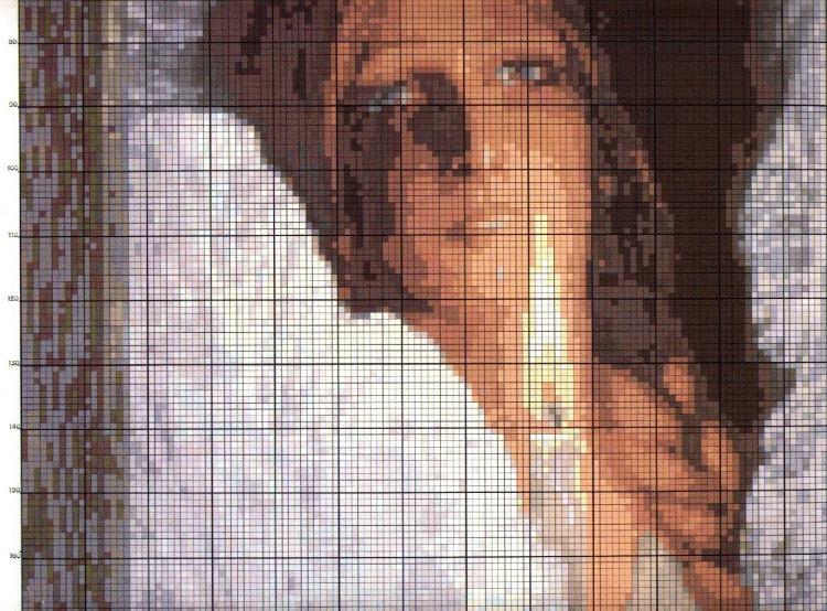 Схемы вышивки крестом по картинам васильева