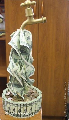 Деньги в лампочке подарок 78