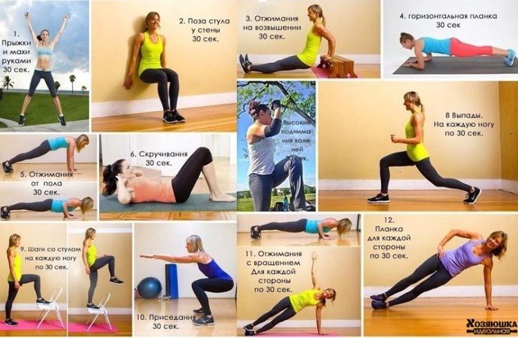 Тренировка для похудения в домашних условиях отзывы
