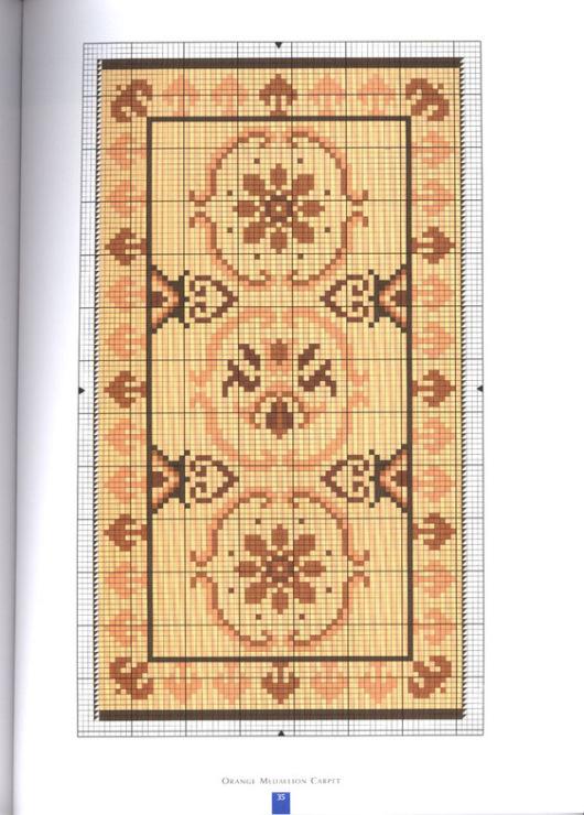 Схемы вышивки на ковер 593