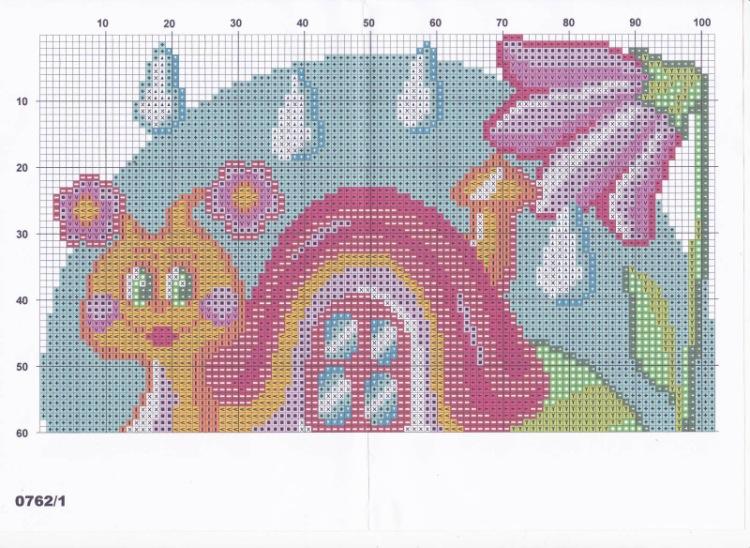 Вышивка крестом схемы вышивки подушка детские 391