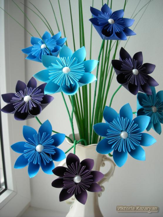 Цветы поделки сделаны своими руками