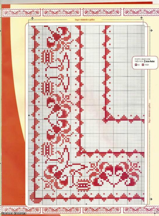 Вышитые скатерти вышивка крестом - скатерти схемы вышивки кр.