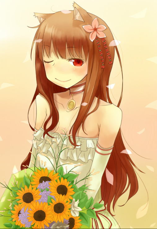 Spice and wolf wedding