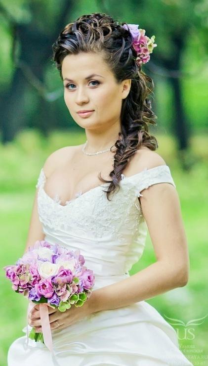 Фото невесты и прически
