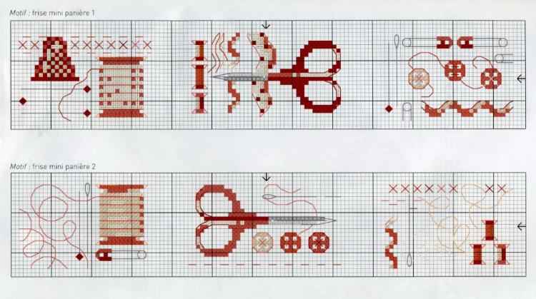 Рукоделия схемы вышиванием крестом