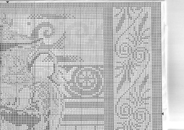 Схема вышивки гречанки 54