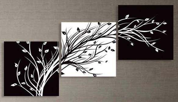 Триптих деревья схема вышивки крестом 70