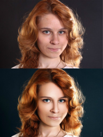 Ретушер Ирина Гирина -